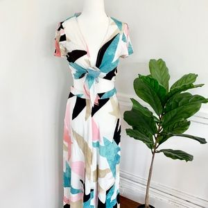Lulus Two Piece Tropical Maxi Set, Medium